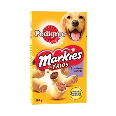 MARKIES TRIOS  500 GR per Cani Pedigree