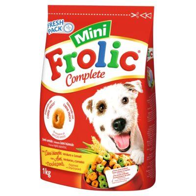 MINI POLLO VERDURE E CEREALI 1 KG per Cani Frolic