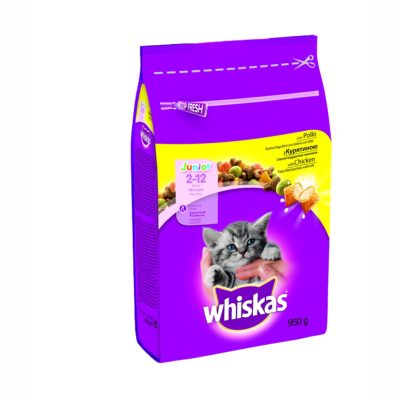 CROCCANTINI  JUNIOR CON POLLO 950G per Gatti Whiskas