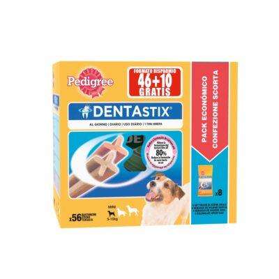DENTASTIX MPACK SMALL X56 SMALL 8*7 per Cani Pedigree