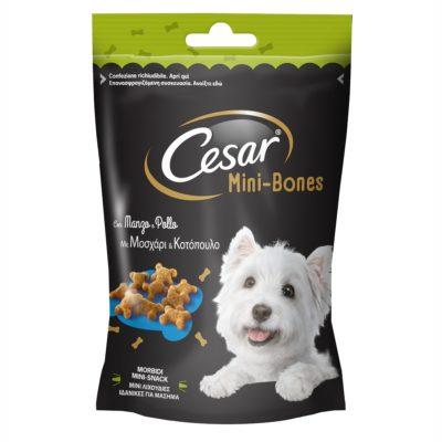 MINI-BONES MANZO E POLLO 75G per Cani Cesar
