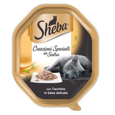 CREAZIONI SPECIALI TACCHINO 85GR per Gatti Sheba