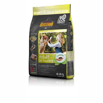 ADULT POULTRY GRAIN FREE 4 KG per CANI BELCANDO