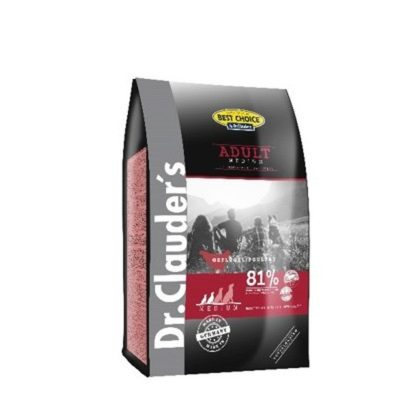 ADULT MEDIUM BREED 4 KG per Cani DR CLAUDERS