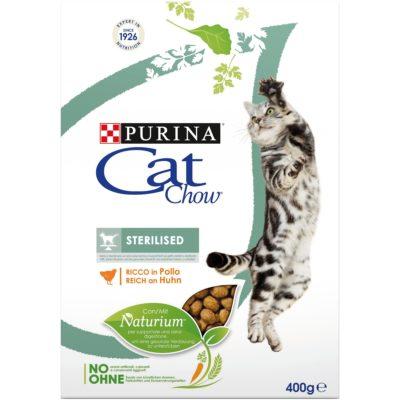 CAT CHOW STERILISED  400G per Gatti PURINA CAT CHOW