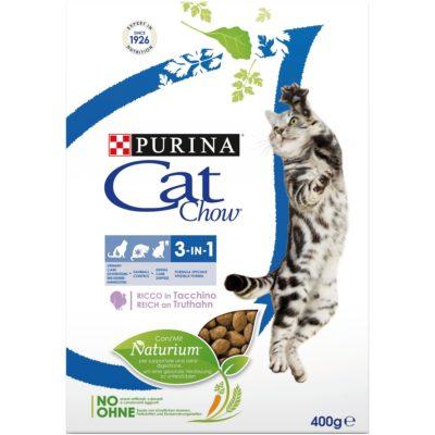 CAT CHOW FELINE 3IN1  400G per Gatti PURINA CAT CHOW