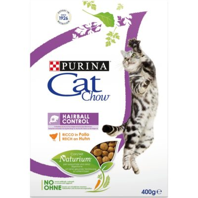 CAT CHOW HAIRBALL CONTROL  400G per Gatti PURINA CAT CHOW