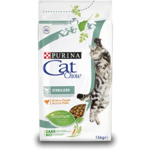 CAT CHOW STERILISED 1.5KG per Gatti PURINA CAT CHOW