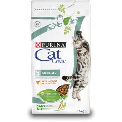 CAT CHOW STERILISED 1.5KG per Gatti PURINA CAT CHOW