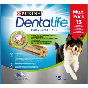 DENTALIFE MEDIUM FORMATO CONVENIENZA  345G per Cani PURINA DENTALIFE