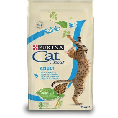 CAT CHOW ADULT SALMONE 10KG per Gatti PURINA CAT CHOW