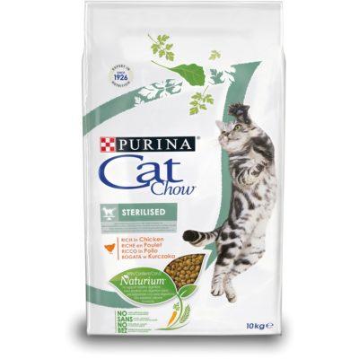 CAT CHOW STERILISED 10KG per Gatti PURINA CAT CHOW
