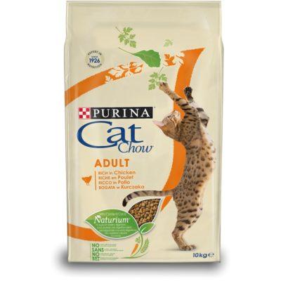 CAT CHOW ADULT POLLO 10KG per Gatti PURINA CAT CHOW
