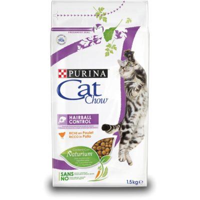 CAT CHOW HAIRBALL CONTROL 1.5KG per Gatti PURINA CAT CHOW
