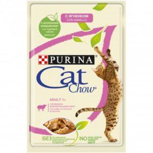 CAT CHOW AGNELLO E FAGIOLINI 85G per Gatti PURINA CAT CHOW