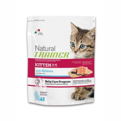 TRAINER NATURAL CAT KITTEN SALMON per Gatti TRAINER