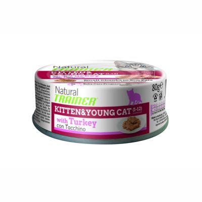 TRAINER NATURAL CAT KITTEN & YOUG WITHFRESH CHICKEN LATTINA per Gatti TRAINER