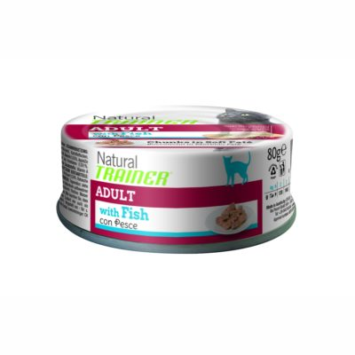 TRAINER NATURAL CAT ADULT WITH FISH LATTINA per Gatti TRAINER