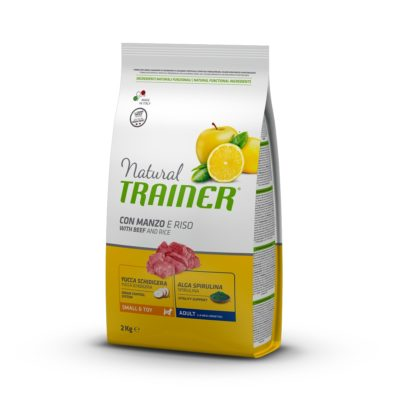 TRAINER NATURAL DOG  SMALL & TOY MANZO E RISO per Cani TRAINER