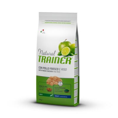 TRAINER NATURAL DOG MAXI ADULT POLLO FRESCO per Cani TRAINER