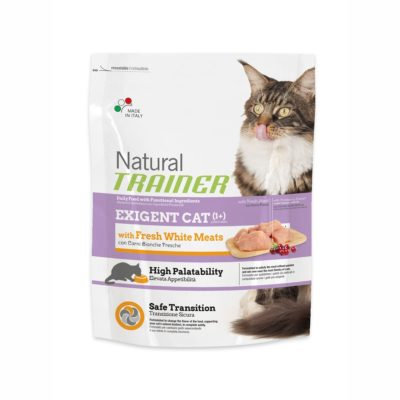 TRAINER NATURAL EXIGENT CAT WITH FRESH WHITE MEATS FL per Gatti TRAINER