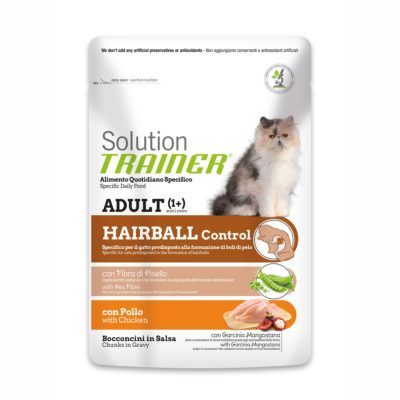 TRAINER SOLUTION CAT HAIRBALL CHICKEN BUSTA per Gatti TRAINER