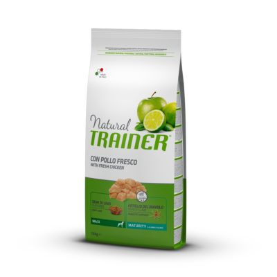 TRAINER NATURAL DOG MAXI MATURITY POLLO FRESCO FL per Cani TRAINER