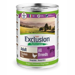 CHICKEN ALL BREEDS CONF. 400 GR ADULT per CANI Exclusion