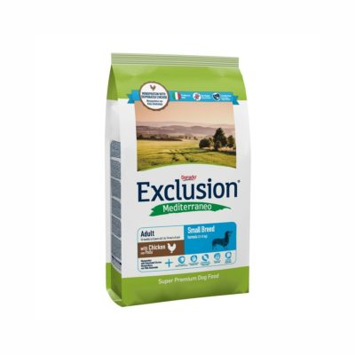 CHICKEN SMALL CONF. 800 GR ADULT per CANI Exclusion