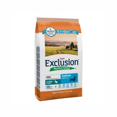 DUCK SMALL CONF. 800 GR ADULT per CANI Exclusion