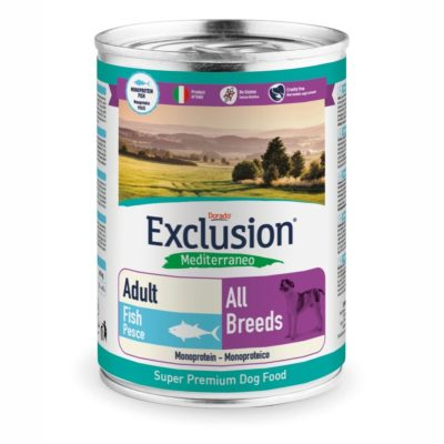FISH ALL BREEDS CONF. 400 GR ADULT per CANI Exclusion