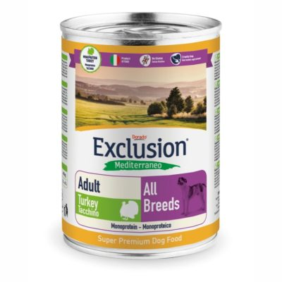 TURKEY ALL BREEDS CONF. 400 G ADULT per CANI Exclusion